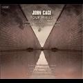 John Cage: Songs and Chamber Music -Four Walls, The Seasons, Three Songs, etc / Lorna Windsor(voice), Ars Ludi, David Simonacci(vn), etc