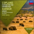 Copland: Fanfare for the Common Man; Barber: Adagio, etc