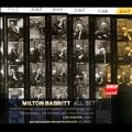 Milton Babbitt: All Set, etc