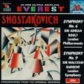 Shostakovich: Symphonies 6 & 9 / Boult, Sargent, London SO