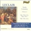 Leclair: Violin Concertos Vol 2 / Standage, Brown, et al