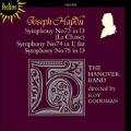 Haydn: Symphonies no 73, 74, 75 / Roy Goodman, Hanover Band