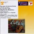 Russian Orchestral Works / Ormandy, Stokowski, Philadelphia