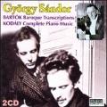 Bartok: Baroque Transcriptions; Kodaly: Complete Piano Music