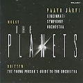 Holst: The Planets Op.32; Britten: The Young Person's Guide to the Orchestra Op.34 / Paavo Jarvi, Cincinnati SO