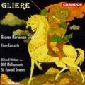 Gliere: Bronze Horseman, Horn Concerto / Downes, Watkins