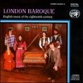 English Music of the 18th Century:London Baroque