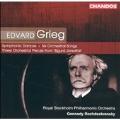 Grieg: Symphonic Dances, etc / Rozhdestvensky, Stockholm PO