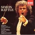 Sibelius: Symphony no 5;  Nielsen: Symphony no 4 / Rattle