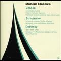 Modern Classics - E.Varese, Stravinsky, Debussy