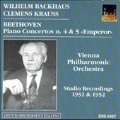 """Beethoven: Piano Concertos n. 4 & 5 """"Emperor"""""""
