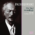 Paderewski - His Final Recordings / Ignacy Jan Paderewski