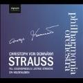 R.Strauss: Til Eulenspiegels Lustige Streiche, Ein Heldenleben / Christoph von Dohnanyi, Philharmonia Orchestra