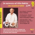 In Memory Of Alla Rakha Vol.1