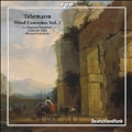 Telemann: Wind Concertos Vol.1 -Concerto for Two Horns, Concerto for Recorder and Transverse Flute, etc / Michael Schneider(cond), La Stagione Frankfurt, etc