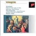 Schubert: Mass in E-flat Major D 950 / Bruno Weil