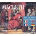 Verdi: Macbeth / Matheson, Glossop, Hunter, Tomlinson, et al