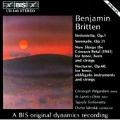 Britten: Sinfonietta, Serenade, etc / Vaenskae, Tapiola Sinf