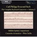 C.P.E. Bach: Complete Keyboard Concertos Vol 2 / Spanyi
