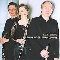 Mozart: Adagios & Fugues; J.S.Bach: French Suite No.5 BWV.813, etc / Sabine Meyer, Trio di Clarone