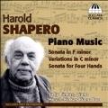 Harold Shapero: Piano Music