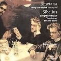 """Smetana: String Quartet No.1 """"From My Life""""; Sibelius: String Quartet No.4 """"Voces Intimae"""", Andante Festivo JS.34a / Kocian Quartet"""