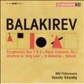 Balakirev: Symphonies No.1, No.2, Piano Concerto Op.1, King Lear Overture, In Bohemia, Tamara