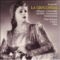 PONCHIELLI :LA GIOCONDA (10/8/1960) (+BT:EXCERPTS FROM 11/5/1953):RENATO CELLINI(cond)/NEW ORLEANS OPERA ORCHESTRA & CHORUS/ETC