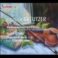 """R.Kreutzer: Violin Concertos No.9, No.13, """"Nel Cor Piu"""" Varioation, etc / Saskia Lethiec, Jose Ferreira Lobo, Orquestra do Norte, Porto"""