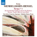 Mendelssohn-Hensel: Songs Vol.1 / Dorothea Craxton, Babette Dorn