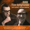 First Symphonies - John Joubert, William Mathias