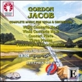 G.Jacob: Complete Music for Viola and Orchestra