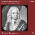 J.Mattheson: 12 Suites for Harpsichord