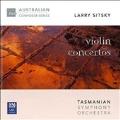 Larry Sitsky: Violin Concertos No.2, No.3, Mysterium Cosmographicum