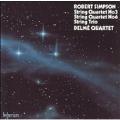 Simpson: String Quartets no 3 & 6, Trio / Delme Quartet