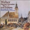 Weber: Clarinet Concertos No.1, No.2, Gran Quintetto Op.43