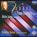 Vanhal: 3 Piano Quintets Op.12 (2/21-24/2008) / Miklos Spanyi(fp), Authentic Quartet