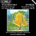 Tchaikovsky, Dvorak: Serenades / Berglund, New Stockholm CO