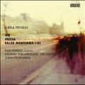 Jukka Tiensuu: Vie, Missa, False Memories I-III