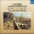 J.C.Bach: Londoner Sinfonien (reissue)