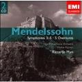 "Mendelssohn:Symphony No.3""Scottish""/No.4 ""Italian""/No.5 ""Reformation""/etc:Riccardo Muti(cond)/NPO/etc"