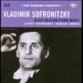 Vladimir Sofronitsky Plays Russian Piano Music