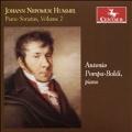 J.N.Hummel: Piano Sonatas Vol.2