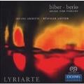 Biber & Berio -Music For Violins:Biber:Violin Sonatas No.3/No.5/No.6/Berio:Duet For 2 Violins/Etc :Irvine Arditti(Vn)/Rudiger Lotter(Vn)/Etc