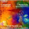 Lutoslawski, Penderecki: Cello Concertos / Thedeen, et al