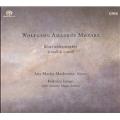 Mozart : Piano CTO 20 , 24 / Markovina , Longo , Sofia Soloists