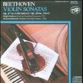 """Beethoven: Violin Sonatas No.8, No.9 """"Kreutzer"""" / Ralph Holmes(vn), Richard Burnett(fp)"""