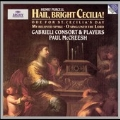Purcell: Hail! Bright Cecilia (Ode for St Cecilia's Day 1692) Z.328