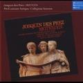 Josquin De Prez:Motets:Benedicta es Coelorum Regina/Tu Solus Qui Facis Mrabilia/Etc:Bruno Turner(cond)/Tolzer Knabenchor/Pro Cantione Antiqua/Collegium Aureum/