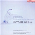 """Grieg: Symphonic Dances, Six Orchestral Songs, Three Orchestral Pieces from """"Sigurd Jorsalfar"""""""